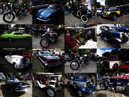 Bild: Oldtimer Collage